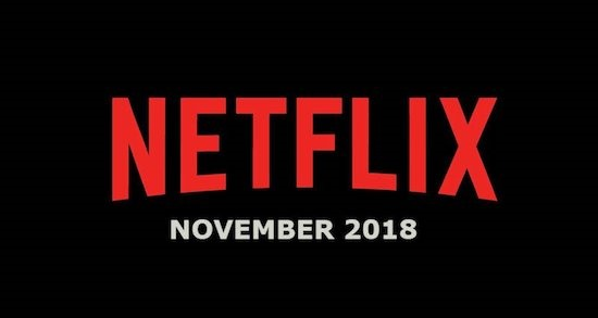Netflix lineup of movies and shows for November 2018