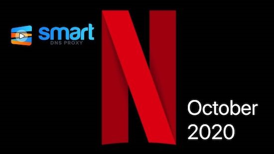 Netflix - lineup of movies and shows for October 2020