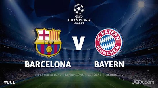 Watch Barcelona vs Juventus UEFA Champions League Final Online