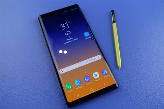 Samsung Note 9 - Best Smartphone For Streaming in 2018?