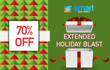 Smart DNS Proxy's Extended Holiday Blast – Winners & Big Discount!