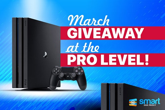 March Giveaway at the Pro level!